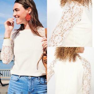Stella & Dot Tops - Lace sweater